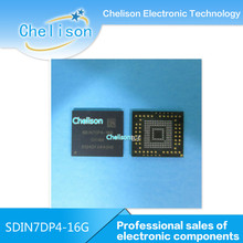 EMMC SDIN7DP4-16G 16G BIT Flash chips ic