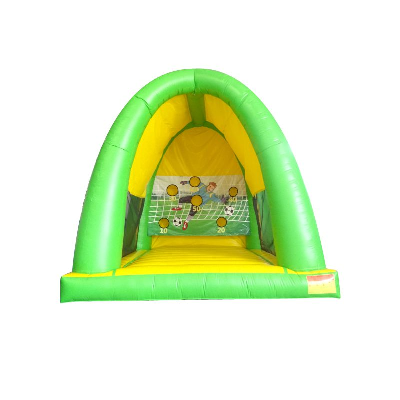 New design Inflatable football game shooting for kids and adults
