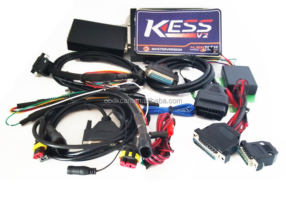 Best Quality KESS V2 OBD2 Manager Tuning Kit No Tokens Limited Master Version V2.15