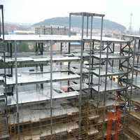 steel structure prefabricated shopping center projects