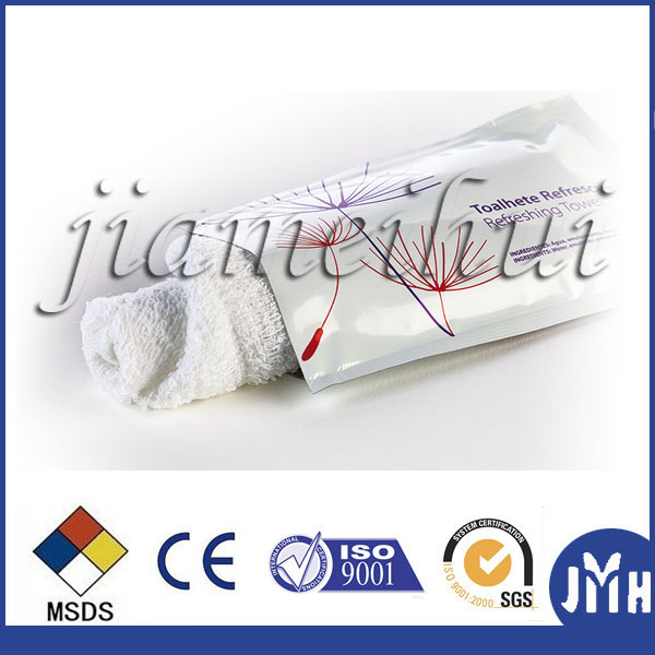 OEM Refreshing Wet Cotton Towel High Quality Factory producing