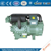 30HP double stage refrigeration compressor condensing unit Bitzer freon R404a for cold storage
