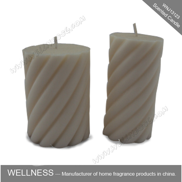 wholesale white religious pillar candle for church