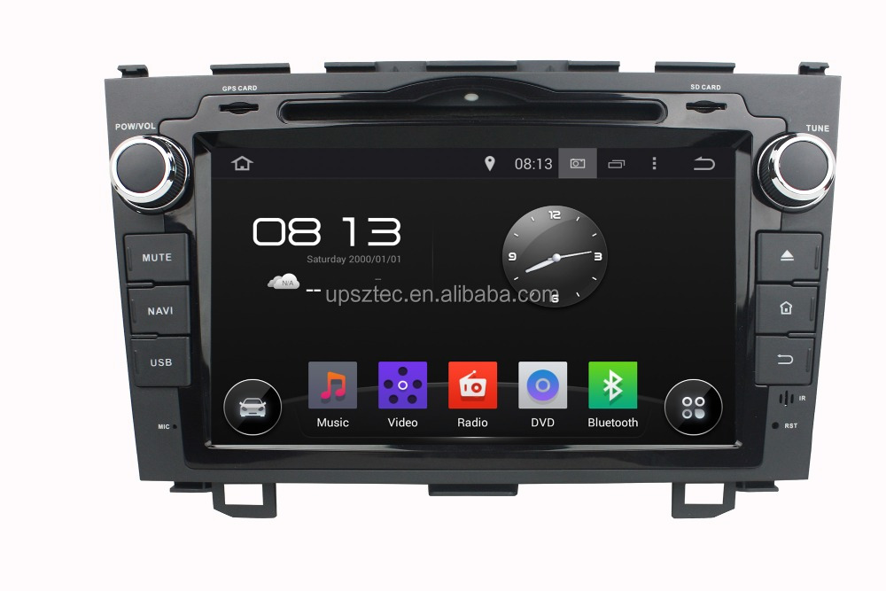 "Wince 6.0 Two DIN 8""LCD-TFT touch screen with gps navigation car DVD/Mp3/Mp4 player for Honda CRV 2010"