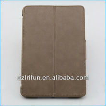 field gray 2 folding hot selling smart leather case for ipad mini