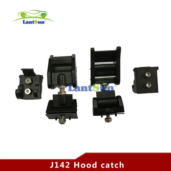 Hood Lock Catch Kit Hood Latch Zinc Alloy For Jeep Wrangler Jk 2007-2016