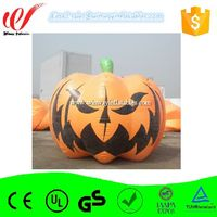 Big pumpkin inflatable balloon,ground balloon, pvc balloon for festive decoration Y3085