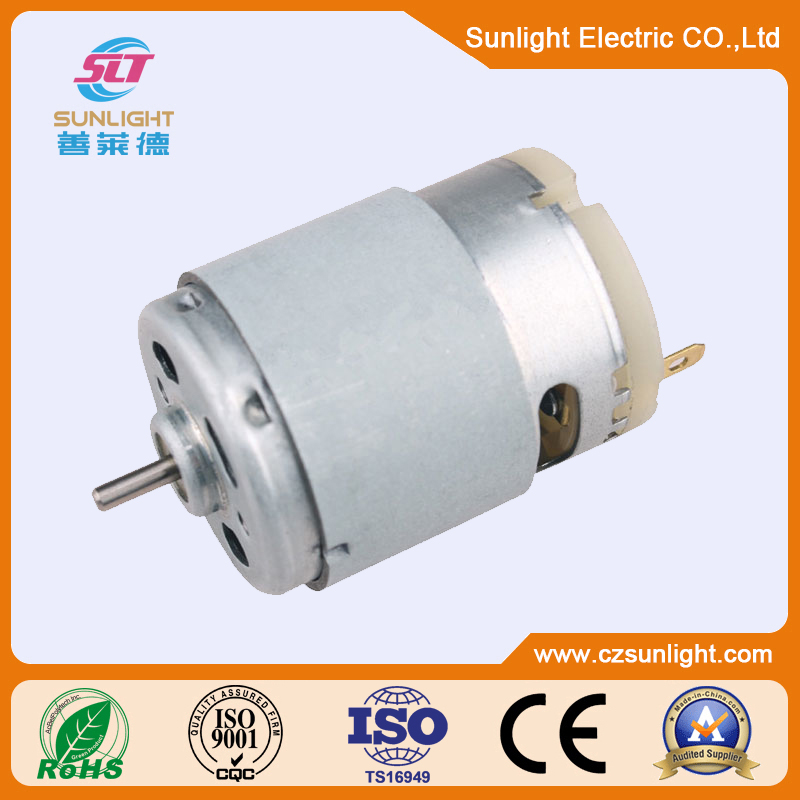 <strong>12</strong> v dc motor small brush motor with fine finish