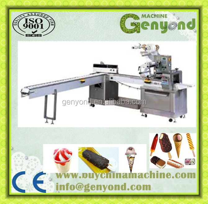 Ice Cream Packing Machine for pillow packing