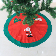 Hot Sale Handmade Cheap 90CM Christmas Tree Skirt For Sale
