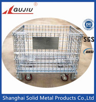 Stackable Foldable Wire Mesh Container wire mesh basket