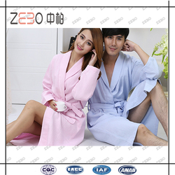 OEM Factory Directly Sale Free Size Cotton Bath Robe for Men and Women