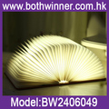 New Wooden Folding LED Nightlight Booklight