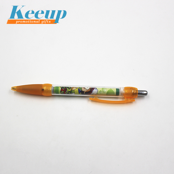 Hot sale cheap promotional advertising slogan flag pen