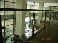 clear tempered glass, building glass