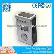 low voltage motion sensor Motion Detection Alarm with Solar Panel