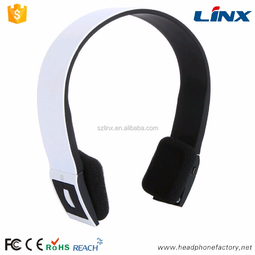 Built in rechargeable battery Headband Style wireless bluetooth headset for sports running