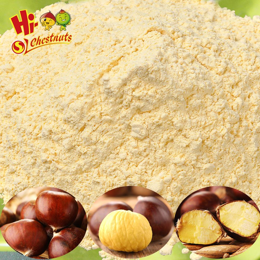 Freeze-dried (FD) Pure Chestnuts Flour---nice color and best quality