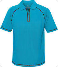 Mens high Quality Polo Shirt, Mens Luxury golf Polo Shirts,men's Performance micro fiber half zipper Jersey Polo Shirt