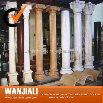 Indoor decorative columns buy roman pillars marble for Indoor decorative pillars