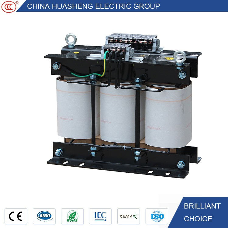 Copper Winding Single phase 110V 220V 230V 240V to three phase 380V~690V transformer 15 KVA electrical voltage step up control t