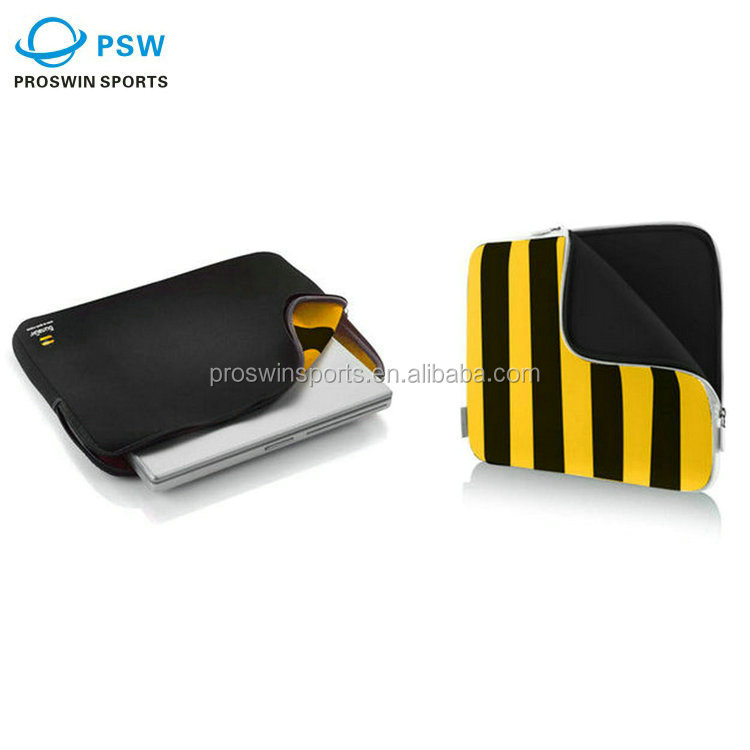 Cheap price wholesale customized size 100% real neoprene laptop case