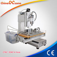 HY-TB4 3040 4 Axis Mini CNC Woodcut Machine