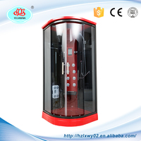 Factory Price Digitizer Glass Panel Red Touch Screen Bathroom Shower Room