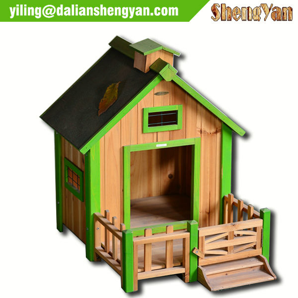 Outdoor Decorative Wooden Dog House/Dog Kennel/Wood Pet House