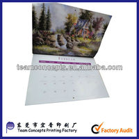 Cheap wholesale wall calendar printing