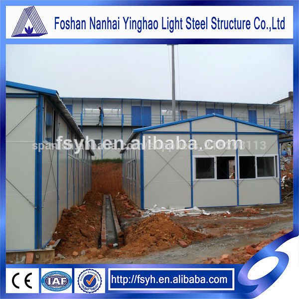 Edificio de construcci n de casas prefabricadas de - Materiales para casas prefabricadas ...