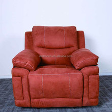 Shenzhen factory 1 2 3 set nitaly leather recliner sofa