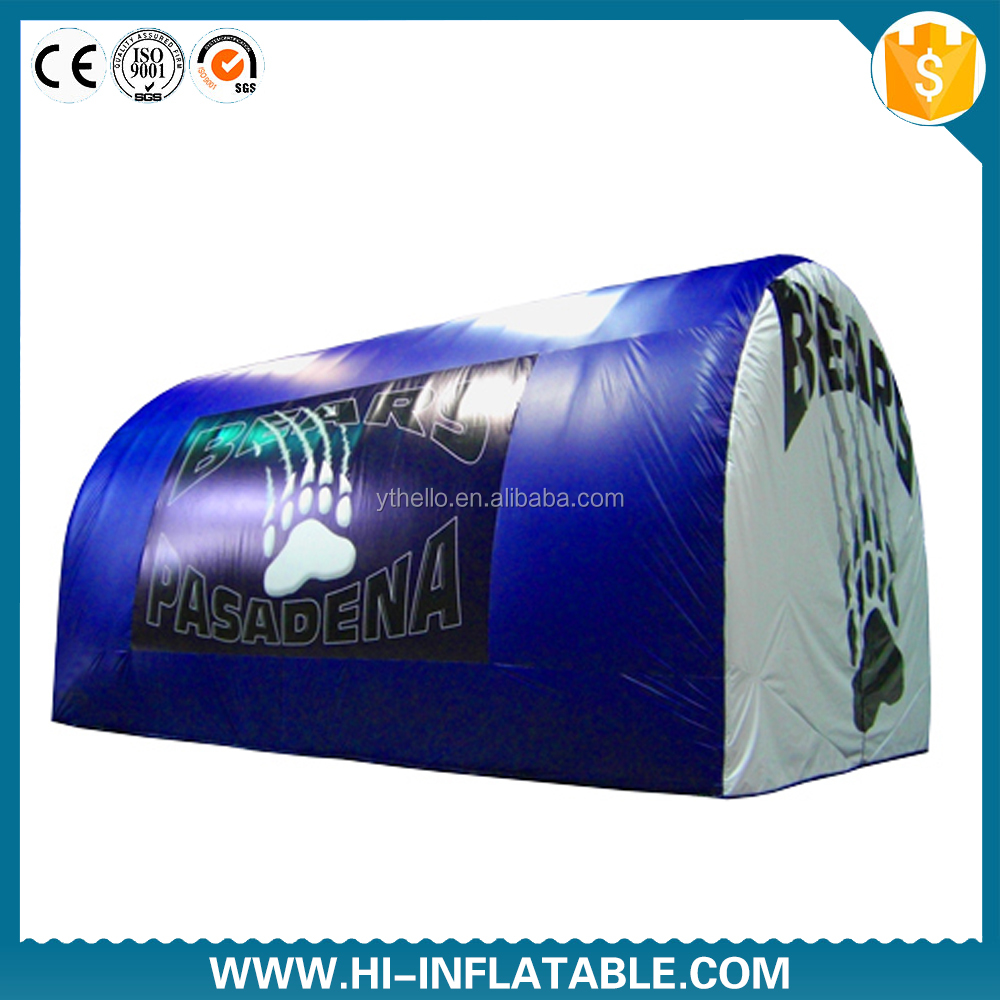 inflatable football tunnel,inflatable american football helmet