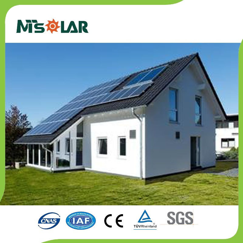 Hot sale home-use roof 5kw solar hybrid home energy system for whole house energy 5kw solar system