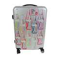 Cola Pattern ABS PC Carry On Luggage Hard Shell Case Luggage