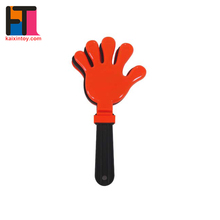 Plastic Party Suppliers Promotion Cheering Plastic Noise Maker Plastic Hand Clapper
