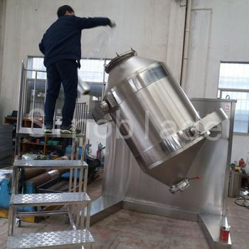 Three Dimensional Motion Mixer for chemail food powder