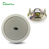 3years warranty CTRLPA CA811 PA system built in 4.5inch Rated 3W active ceiling speaker Guangzhou