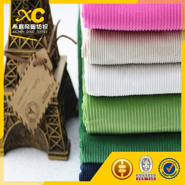 wide wale corduroy fabric from China