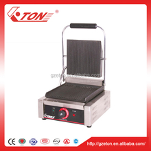 2016 Hot Selling Commercial Non Stick Electric Sandwich Press Panini Contact Grill