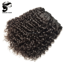 Full Cuticle Natural Hair Extension Product, Best Selling Raw Indian Curly Hair