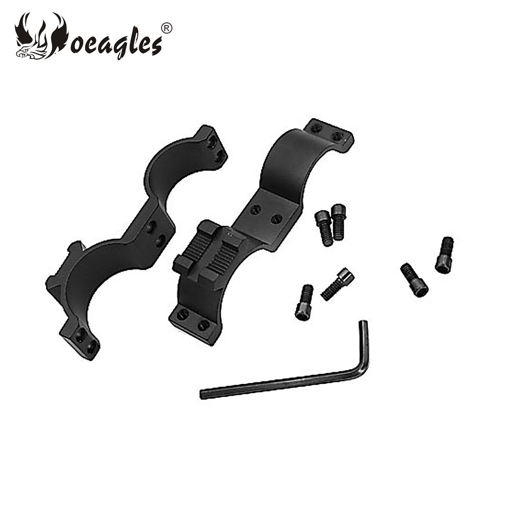 25/30mm Tactical Scope Mount Tactical Flashlight Accessories Torch Brakets Mount with Picatinny Rail