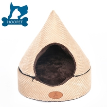 Small Roof Pet House Covered Cat Beds Wholesale Factory Pet Bed