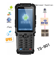 TS-901 wireless handheld pda terminal device for supermarket