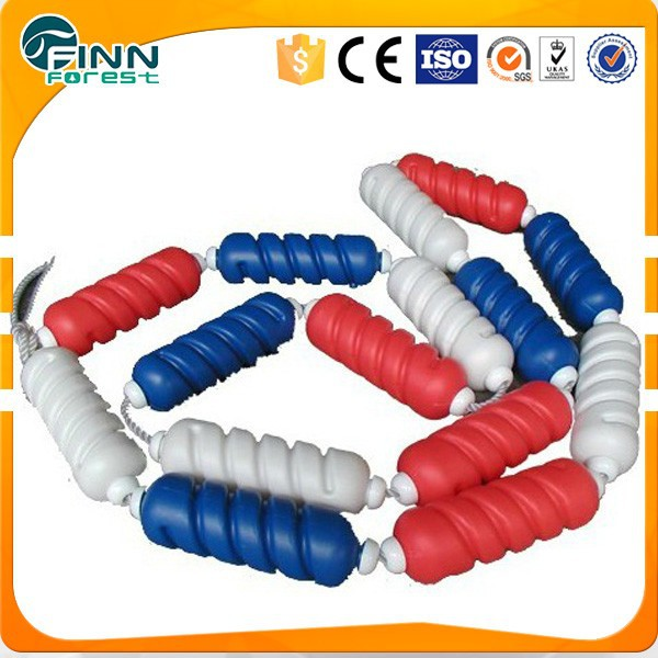 25m 50m competition swimming pool nylon floating rope lane dividers