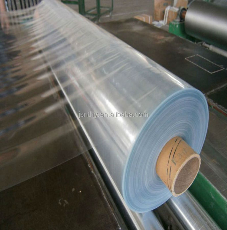 Soft Normal Clear PVC Vinyl Film with SGS 17p certificate