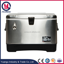 Stainless Steel Ice Chest Ice Box Cooler Portable