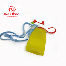 Popular outdoor foldable unique silicone water bottle collapsible