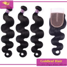 New products 2014 virgin hair bundles with lace closure retailers general merchandise