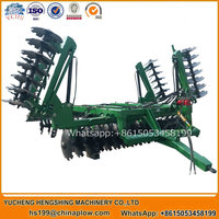 Agricultural equipment folding hydraulic disc harrow manufacturer